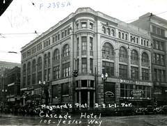 Imperial Jewelry in Olympic Block, Seattle, 1937