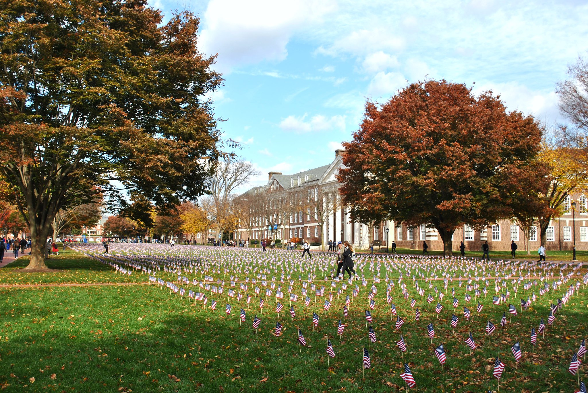 'Highest ideals of dedication and sacrifice'; Veterans are remembered throughout Blue Hen Veterans' week of commemoration