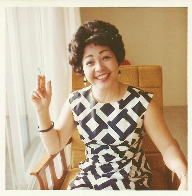 Japanese lady, 1968