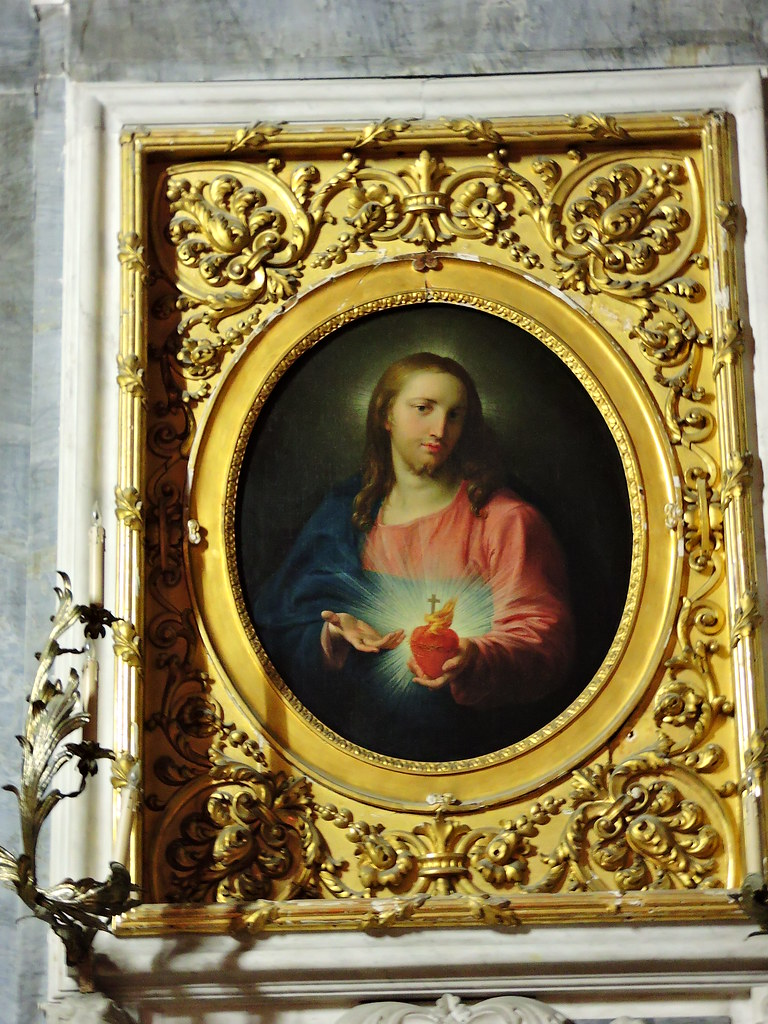 Copy of Pompeo Batoni's Sacred Heart of Jesus (Copia da Po ...