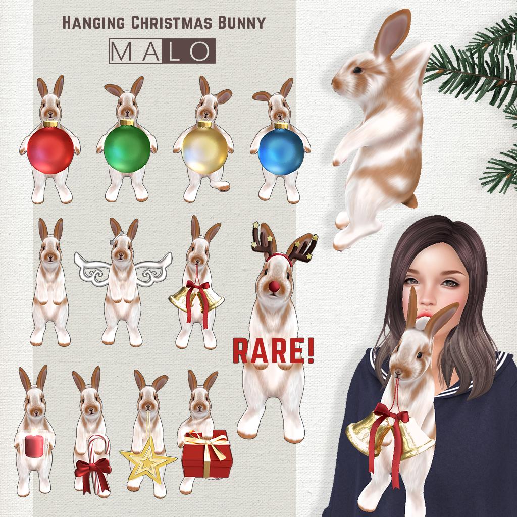 [MALO] Hanging Christmas Bunny Gacha@ Tannenbaum - SecondLifeHub.com