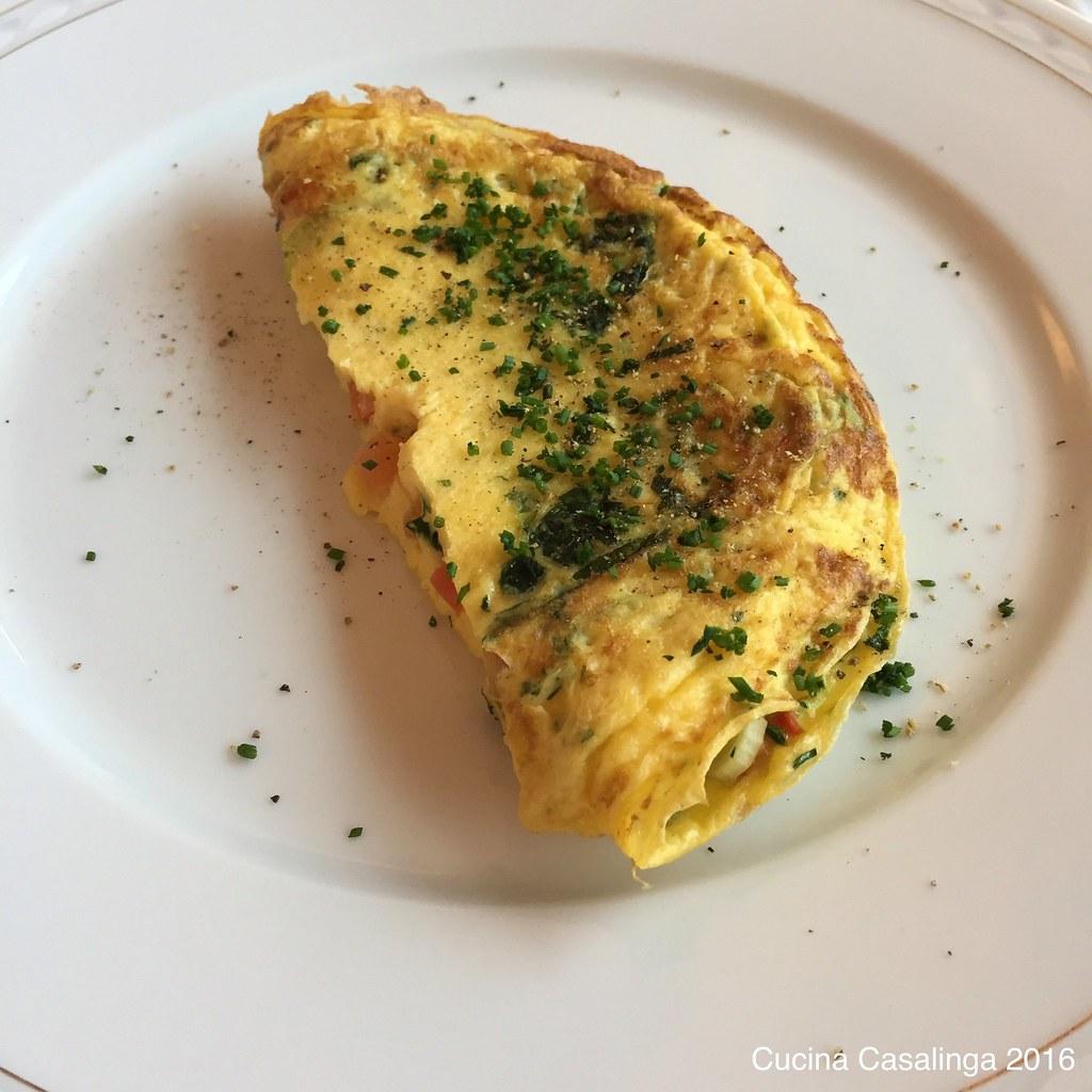 Schloss Fuschl - Frühstück Omelett