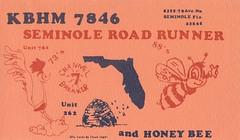 Seminole Road Runner & Honey Bee - Seminole, Florida
