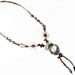 Andrea Rosenfeld: Silverleaf Pearl Quartz Y-Necklace