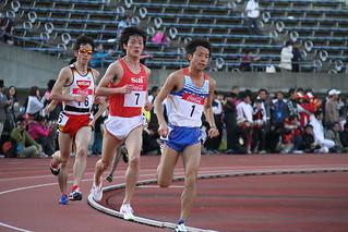 男子5000m3組