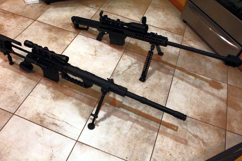 .22LR M82A1 and M200 Cheytac group pics - .22 Rifle/Rimfire Discussion