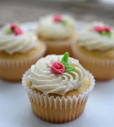 Rose Cupcakes 3