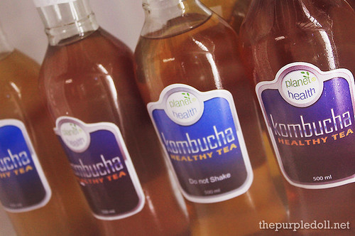 Kombucha Healthy Tea