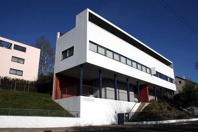 Stuttgart. Weissenhof Museum im Haus Le Corbusier