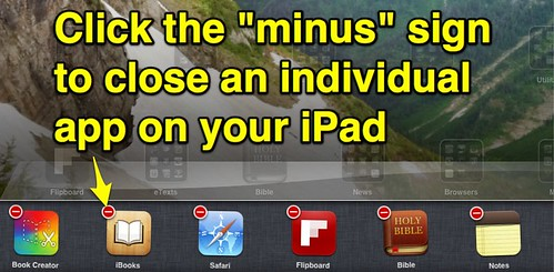 Close an App on your iPad