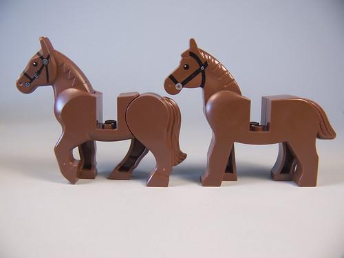 comparaison des nouveaux anciens chevaux