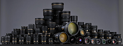 Nikon has more than 70 lenses in its NIKKOR range.