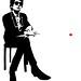 Jef Aérosol 2012 - Screenprint / sérigraphie - Bob Dylan