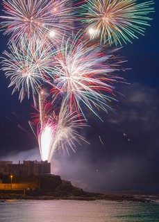 Fireworks Display Portstewart as part of NW200 Week