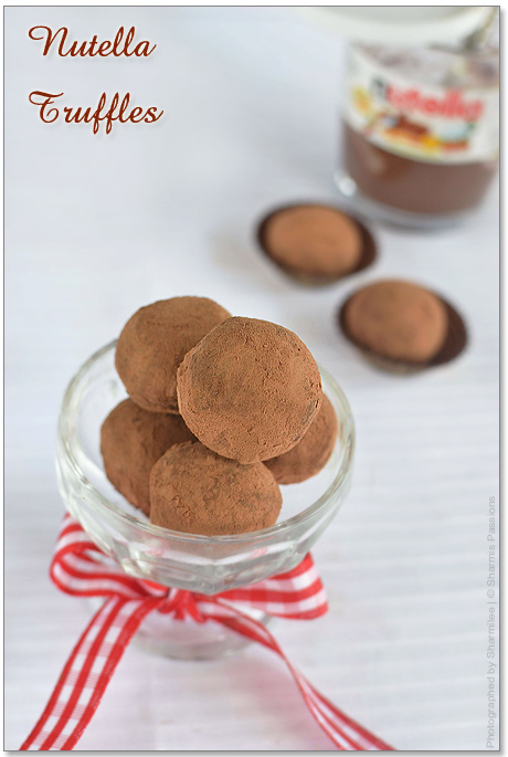 Nutella Truffles Recipe