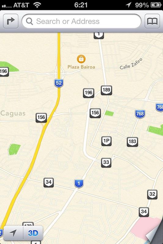 iOS 6 - Mapas