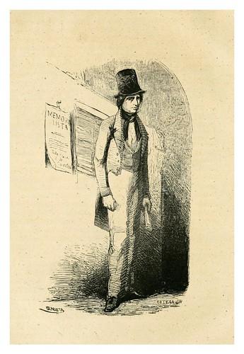 008-El escribiente-memoralista-Los españoles pintados por si mismos-Tomo I-1843- Editado por Ignacio Boix