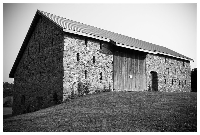 {173/365} Barn on the Amelung House and Glassworks property
