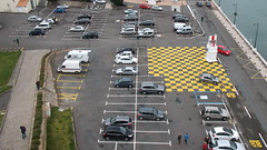 asphalt, traffic, vehicle, road, car park, road surface, parking, pedestrian, infrastructure,