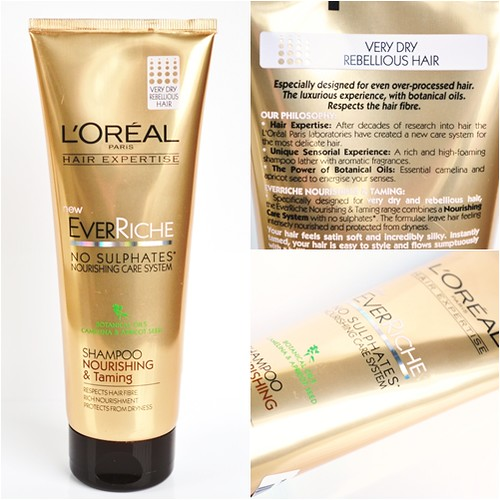 Loreal_Ever_riche_no_sulphates_shampoo