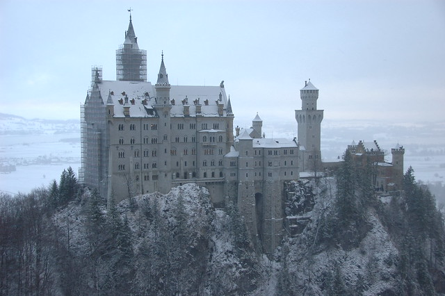 Neuschwanstein Castle from Marienbrücke