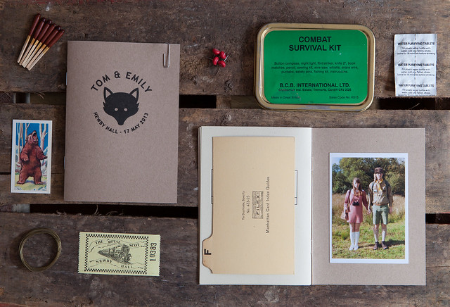 Moonrise Kingdom Wedding Invite