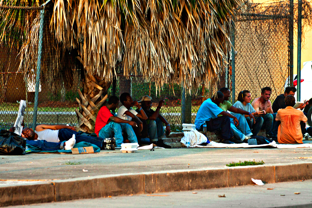 Homeless-by-bus-station--New-Orleans