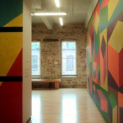 #SolLeWitt #MASSMoCA  #contemporaryart #Art  #colors #museum