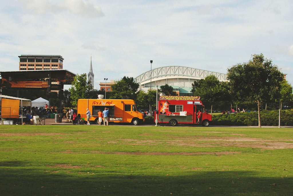 Discovery Green.