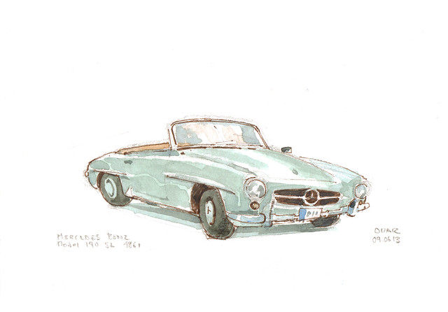 Mercedes Benz 190 SL 1961