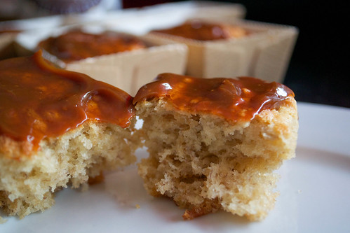 banana and dulce de leche mini loaf cakes 2