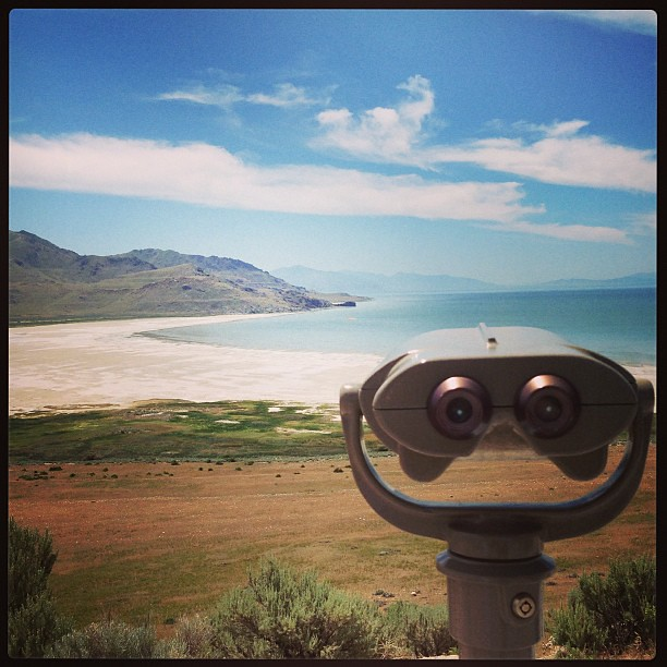 Visiting Angelope Island for the first time! #thegreatsaltlake #utah #viewfinder #instagood #igdaily #familyouting