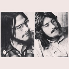 I put this pic of my pops (left) In the @humminghouse fathers day post and someone likened him to John Bonham and...it's pretty spot on for a quick glance!