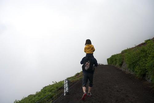 富士山肩車
