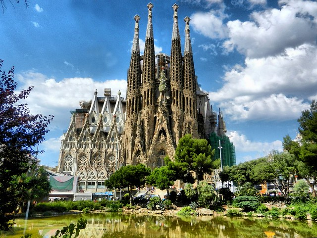 Sagrada Familia, Gaudí, Barcelona