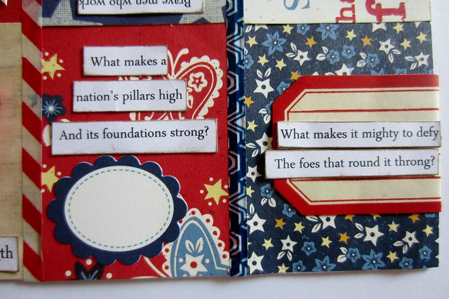 Red, White, & Blue Tiny Book 5