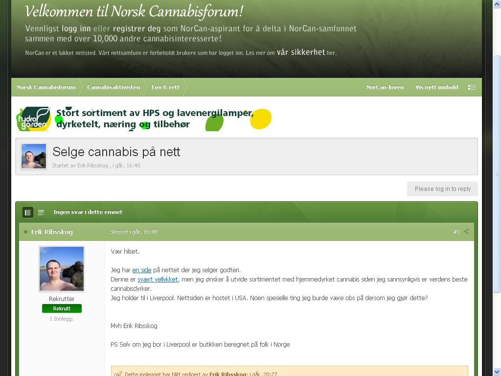 norsk can forum