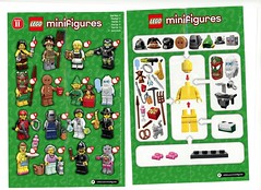 LEGO Collectable Minifigures Series 11