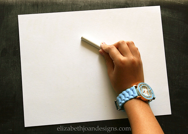 DIY Chalkboard Lettering 3