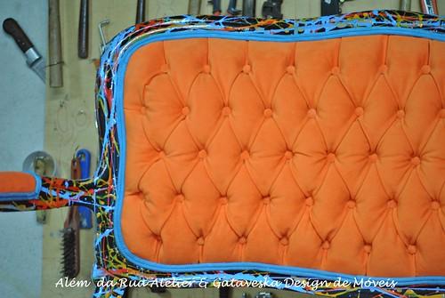 Releitura de sofá Luis Felipe