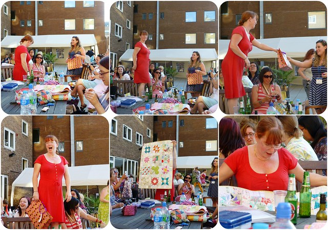 Susan's 50th Wallhanging from Brit Bee July13