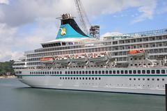 """ARTANIA"" IMO:8201480 PASSENGERS SHIP 44588 tons."