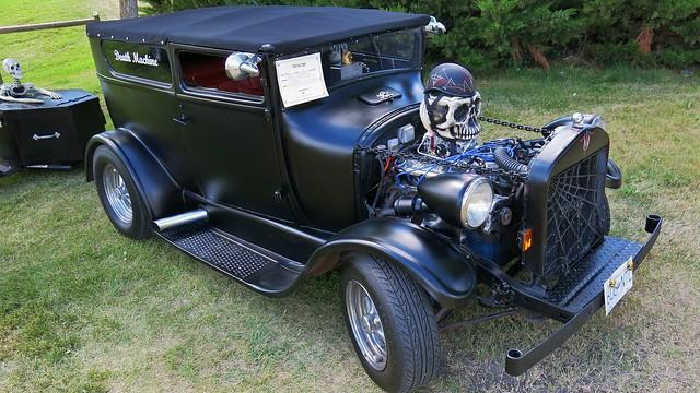 1927 ford model t tudor sedan death machine kustom rod for 1927 ford model t 4 door sedan