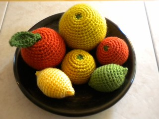 Amigurumi Citrus Fruits