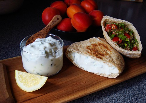 Pita Pocket Duo: Tzatziki & Taboule