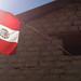 Bandera en casa de Andagua