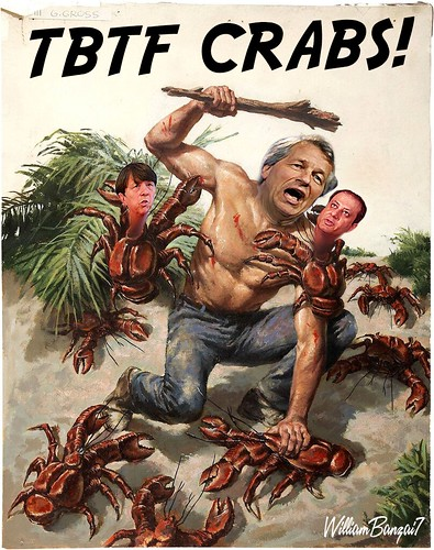 TBTF CRABS! by WilliamBanzai7/Colonel Flick