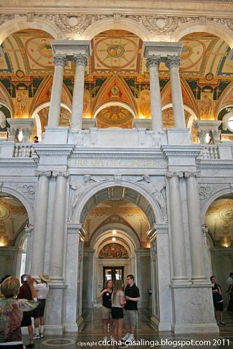 Kongressbiblio Eingang
