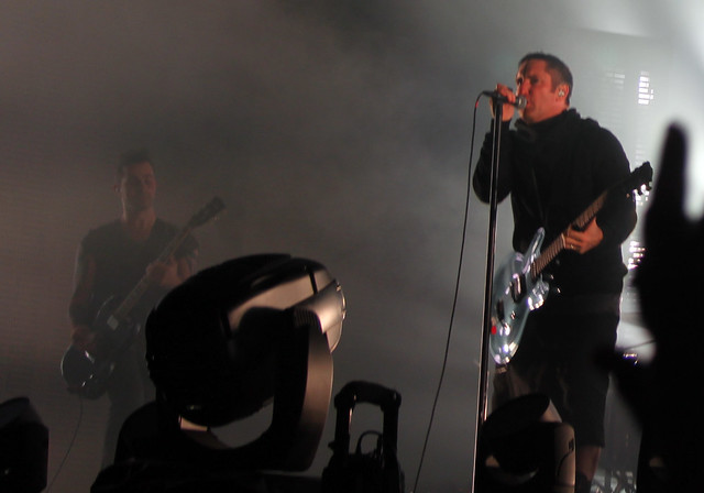 Nine Inch Nails, Belsonic, 21/8/13