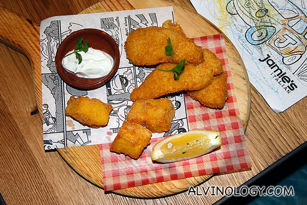 Happy Fishfingers (Fish fight friendly fish fingers with zingy lemon mayo) - S$11.50